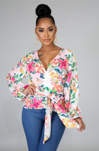 Load image into Gallery viewer, Blooming Wrap Blouse