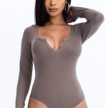 Load image into Gallery viewer, Selene Bodysuit - Taupe