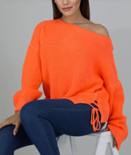 Load image into Gallery viewer, Keep Me Warm Sweater - Orange