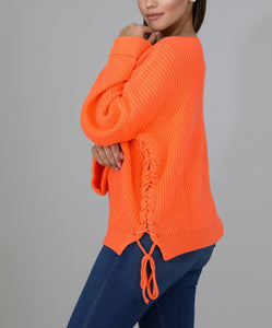 Keep Me Warm Sweater - Orange