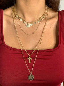 Faith Layered Necklace