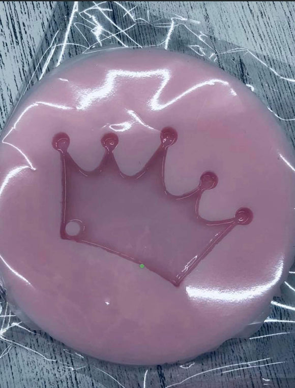 Crown Key Chain Silicone Mold