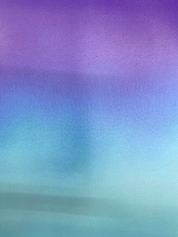 Blue to Purple Ombre Printed HTV