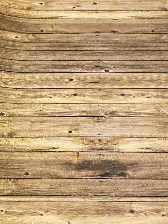 Wooden Barn Floor Printed HTV