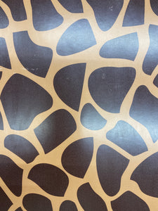 Brown Giraffe Printed HTV