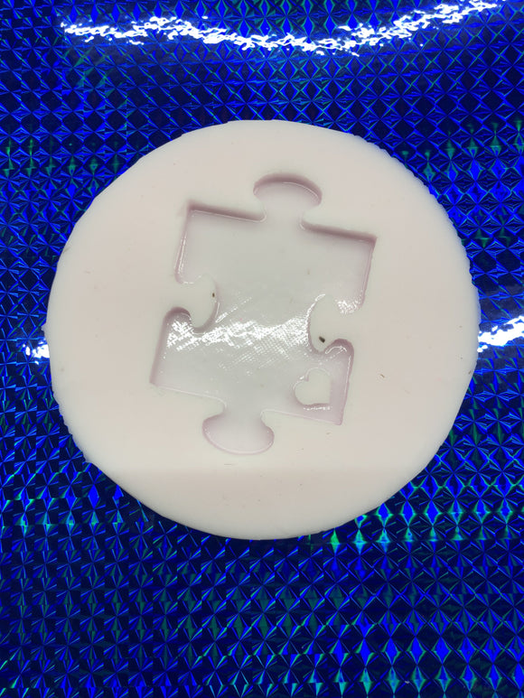 Autism Puzzle Piece Silicone Mold