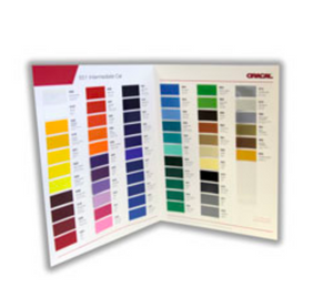 Oracal 651 Sample Color Guide Book
