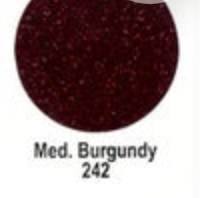 Medium Burgundy Ultra Glitter FDC