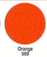 Orange Ultra Glitter FDC