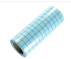 Transfer Tape Roll Clear Grid