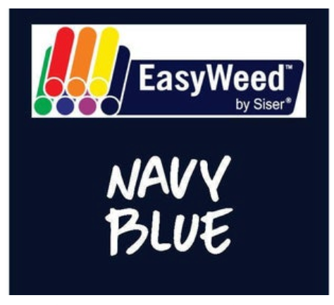 Navy Blue Smooth HTV