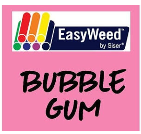 Bubble Gum Smooth HTV