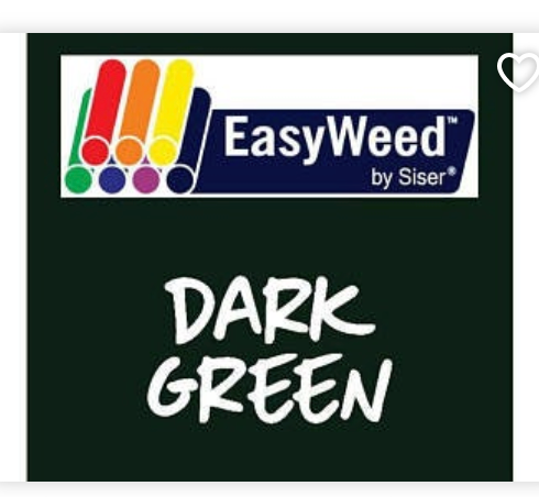 Dark Green Smooth HTV