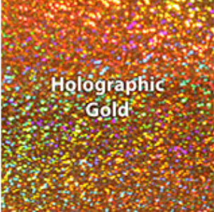 Gold Holographic HTV