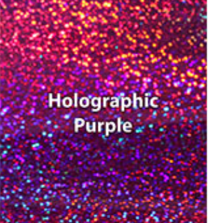 Purple Holographic HTV