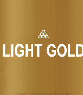 Gold Reflective HTV