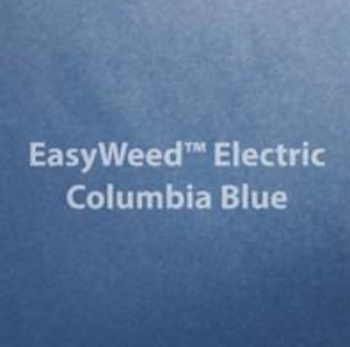 Electric Columbia Blue HTV