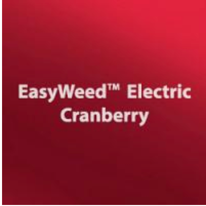 Electric Cranberry HTV