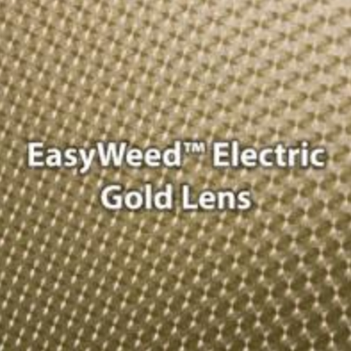Electric Gold Lens HTV