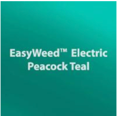 Electric Peacock HTV