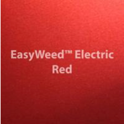 Electric Red HTV