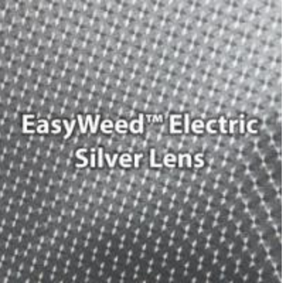 Electric Silver Lens HTV