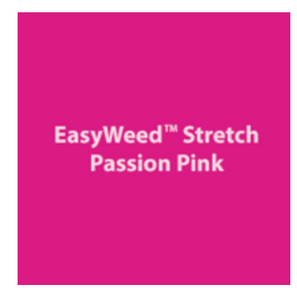Passion Pink Stretch HTV