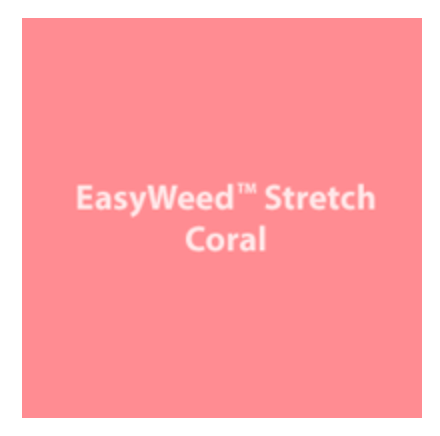 Coral Stretch HTV