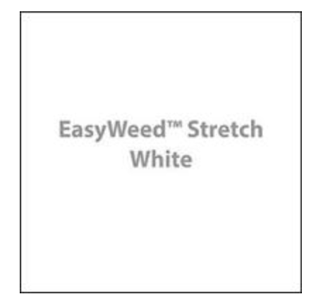 White Stretch HTV