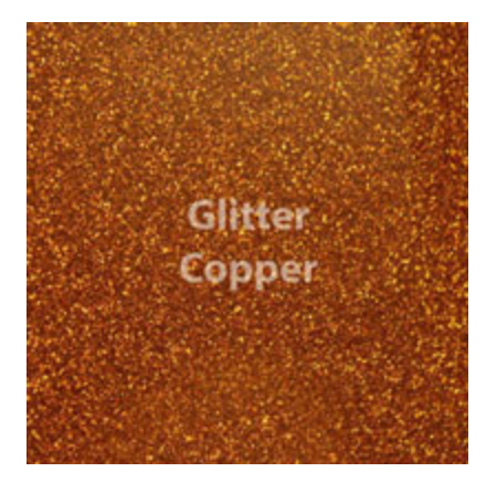 Copper Glitter HTV