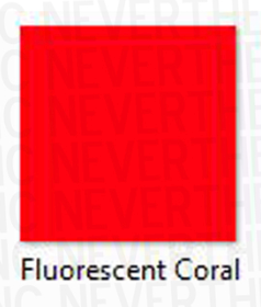 Coral Neon Smooth HTV