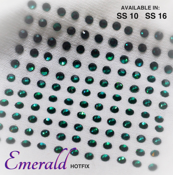 Emerald Hot Fix Rhinestones