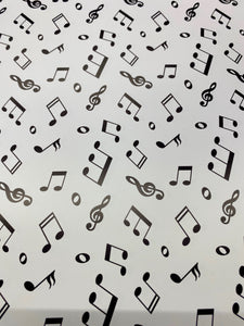 Music Notes Printed HTV