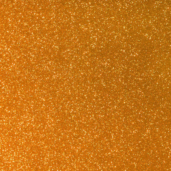 Orange Twinkle Reflective HTV