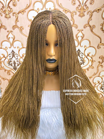 Maya Blonde 4*4 Closure