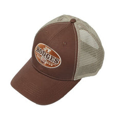 Buffalo Logo Baseball Hat (Brown)