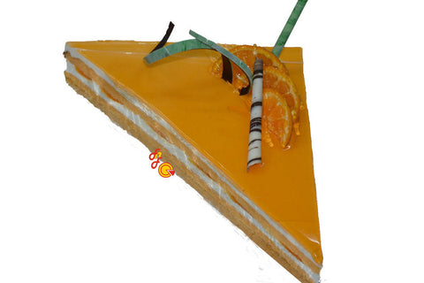 Orange Triangle Cake