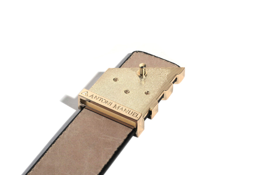 Croc Leather Belts