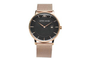 Black G.Miller Classico Metal Strap Watch