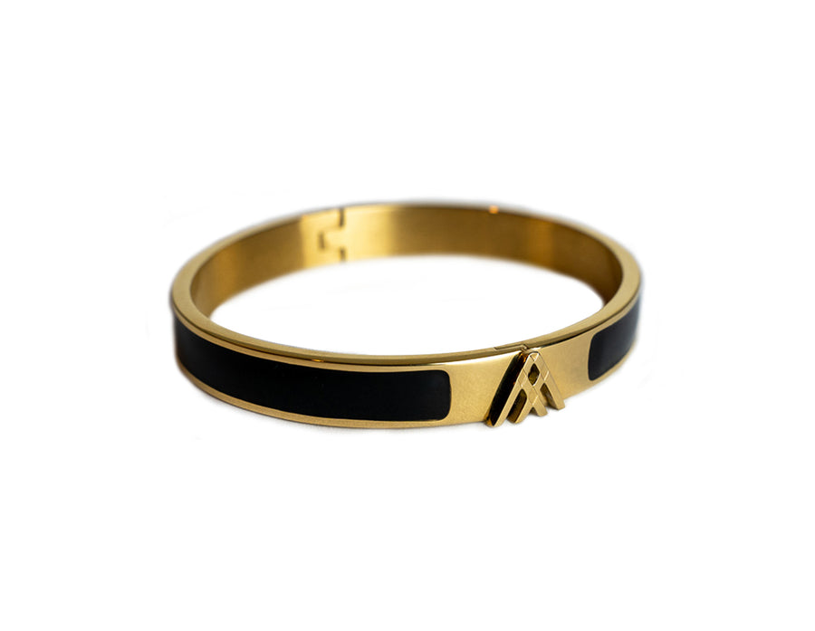 Gold Kepler Bangle - Large