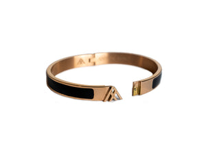 Rose Gold Kepler Bangle - Large
