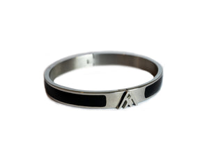 Silver Kepler Bangle - Large