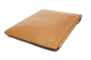 Tan Smooth Leather Pouch Holder - PRE-ORDER