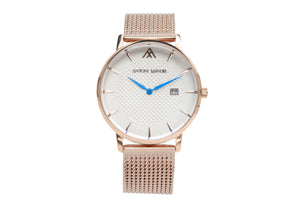 White G.Miller Classico Metal Strap Watch