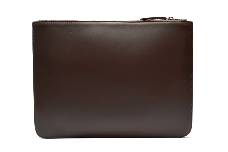 Brown Smooth Leather Pouch Holder - PRE-ORDER