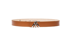 Tan Soft Leather Pavilion Belt - Antoni Manuel