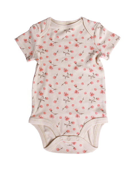 """Blossoms in Bloom"" Short-Sleeve Bodysuit"