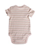 """Sweet Dreams in Stripes"" Short-Sleeve Bodysuit"