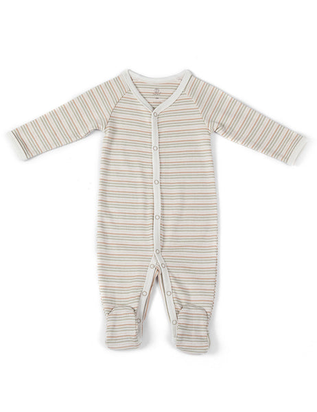 """Sweet Dreams in Stripes"" Footed Sleeper"