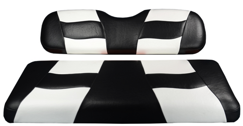 RIPTIDE FRONT SEAT COVER DRIVE BLACK/WHITE